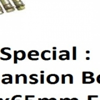 On Special : Expansion Bolt  M8x65mm Each