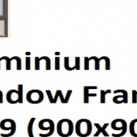Aluminium Window Frame PT99 (900x900)