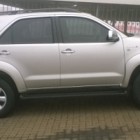 2011 Toyota Fortuner 3.0D4D A/T, 55000km's on the clock, full service history, one owner