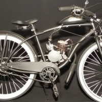 Vintage pedal motorized  bicycles