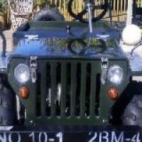 Kiddies mini willys jeep