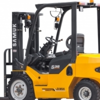 Forklift - Samuk FD25 Model S Diesel - 2 stage