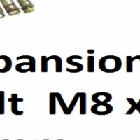 Expansion Bolt  M8 x 65mm (Each) on special