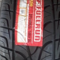 Fullrun new tyres at R 2225 each fitted and balanced in Pretoria. Sizes 275-40-20 Normal.
