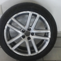 4, 17 Inch Rim and Tyre for Vw still in good condition