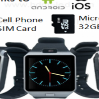 HZ12 - Latest Smart Phone Watch with Bluetooth