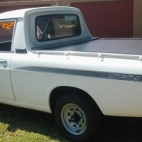 2005 Nissan 1400   5 Speed Single Cab with the following km's 197451