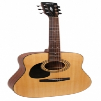 CORT AD810 LEFT HANDED DREADNOUGHT  ACOUSTIC GUITAR