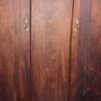 walnut wardrobe