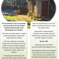 Upmarket Commune - Looking to stay in a home with friends or colleagues
