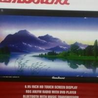 Gemsound DVD-805 6.95inch Touch Screen Bluetooth Display DVD Receiver