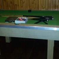 Pool table with acc