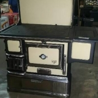 Anthracite, wood and coal stoves