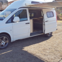 MERCEDES - BENZ VITO 115 TURBO 6 SPEED MANUAL CAMPER  '2005 MODEL