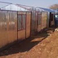 steel huts, zozo huts,site store rooms, toilets,and tools sheds 0619318974
