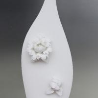 White Porcelain Decor Vase