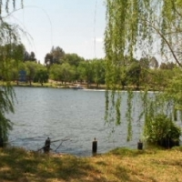 Large 2061m2 corner stand overlooking the Vaal river
