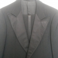 Black dinner jacket & matching trousers
