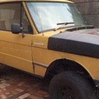 Old Range Rover 1971 / 72 / 73