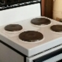 kelvinator 4plate stove oven