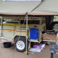Camper Trailer - Botswana Special