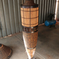 Beaded Standing Lamp