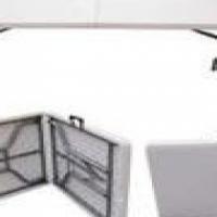 UniQue Folding Square Table 180X76X74CM