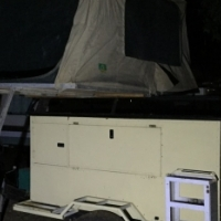 Camp Trailer with Tentco roof top tent