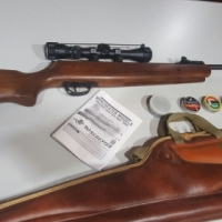 Winchester 1000X with scope