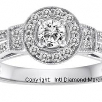 STUNNING ENGAGEMENT RING VALUED AT OVER R32,000 WITH CERTIFICATE