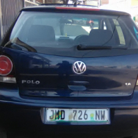VW Polo Sunroof 1.6 Engine Capacity, Bluetooth, Factory A/C, C/D Player, Central Locking, Blue in Co