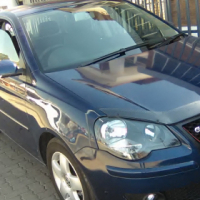 Volkswagen Polo Hatch 1.6 Engine Capacity, 5Doors, Factory A/C, C/D Player, Central Locking, Blue in