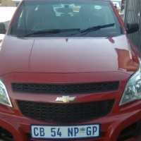 2012 Chevrolet Utility Bakkie 2-Doors, Factory A/C, C/D Player, Central Locking, Red in Color, 14000