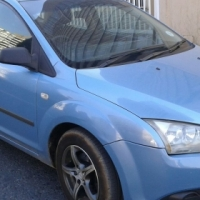 Clean sky blue 2007 Ford Focus 1.6 for sale.