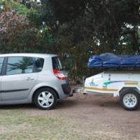 Jurgens Camplite camping trailer, easiest way to camp!
