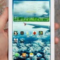 "Used, Galaxy Tab 3 7"" wifi+3g-cos 2.0mp,1.2ghz.16gig+chargerwhitewCPU: Dual-Core, 1.2Display: TFT, 1024 x for sale  Pretoria City"