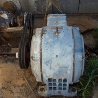 Irrigation pump + 15HP Motor + Switchgear