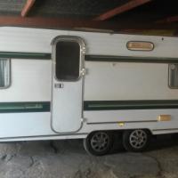 Gypsey 5 caravan (Double Wheel)