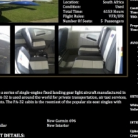 Piper Cherokee 6- 260 for sale