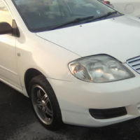 2005 Toyota Corolla 140i Comfort-line 5-Doors, Factory A/C, C/D Player, Central Locking.