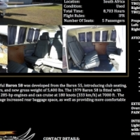 Beechcraft Baron 58 For Sale