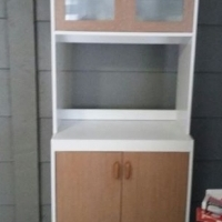 2 cubboards and small kitchen unit for sale