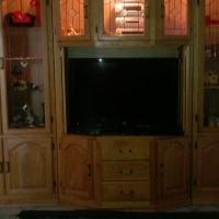 3 Piece Solid wood Wallunit, Price negotiable