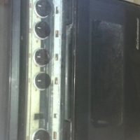 Gas stove with gas oven