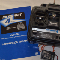 "Futaba ""Skysport 4"" 4-channel tx and 5-channel rx"