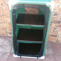Camping Cupboard with 3 shelves