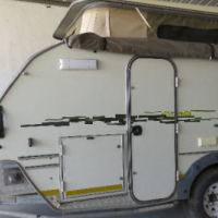 Jurgens Explorer 2 with Solar System and full awning and canvas