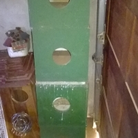 Breeding boxes for parrots