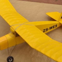 Model Aircraft, 1180mm wingspan with 2 servos
