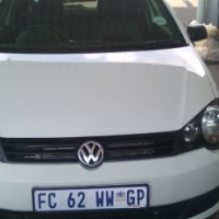 2013 VW Polo vivo sunroof, 1.6 gt 3-Doors, Factory A/C, C/D Player, Central Locking, white in Color,